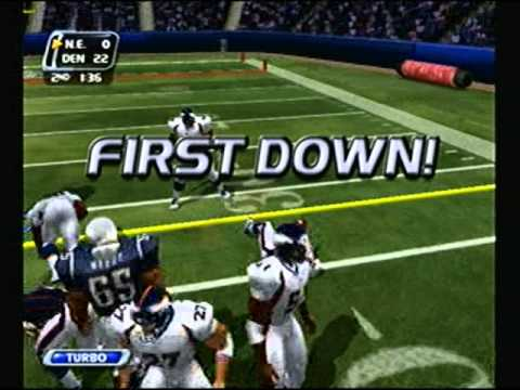 NFL Blitz 2003 - Denver Broncos at New England Patriots (1st Half)