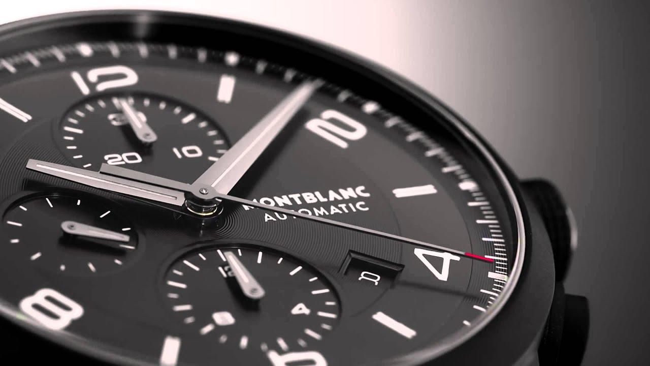 220243da85e93 Montblanc TimeWalker Extreme Chronograph DLC - YouTube