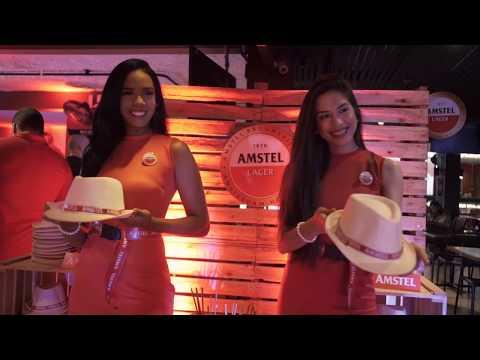 Amstel chegou em Alagoas - Evento de Lançamento Oficial