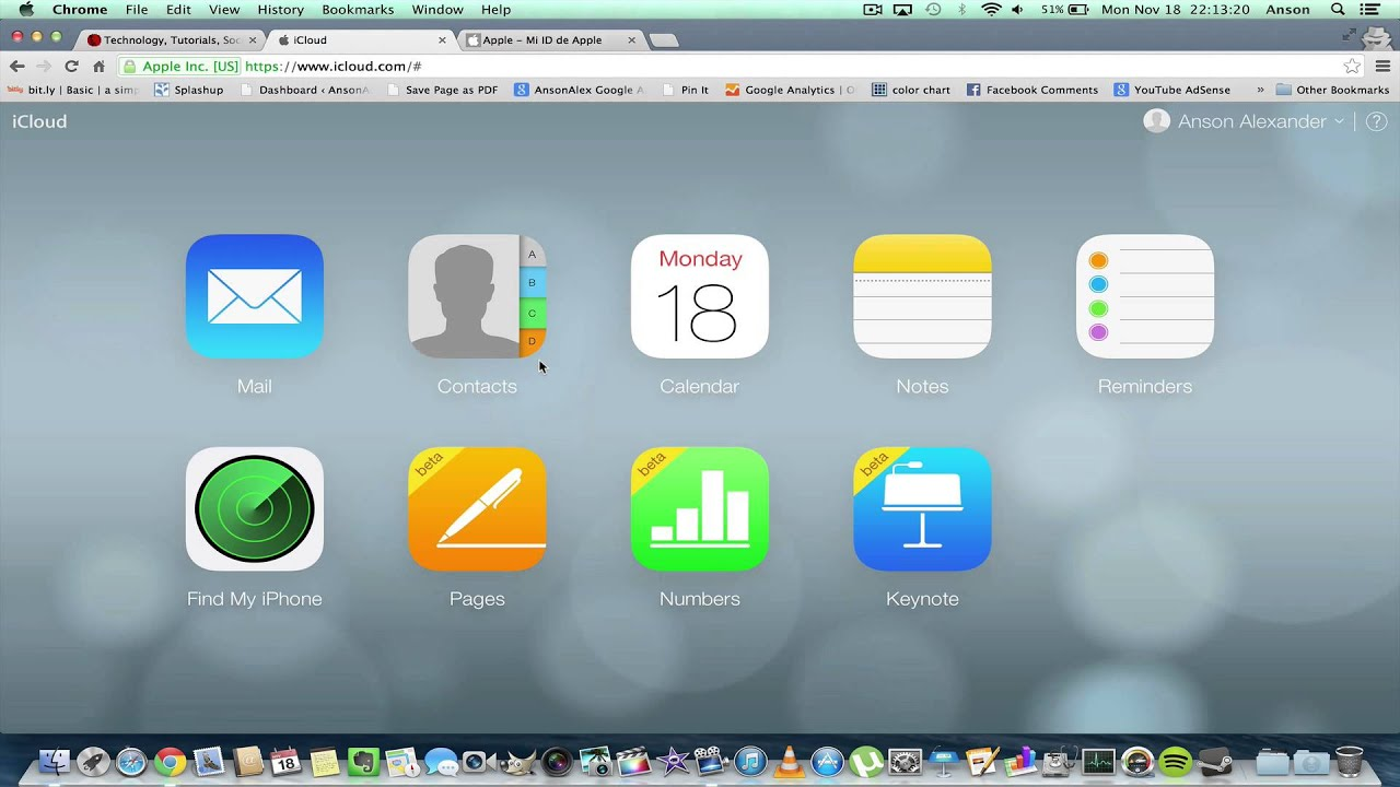 access icloud from pc