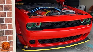 Authentic Benny Installs Another Engine Mod To The 2020 Dodge Challenger Widebody Scat Pack 392