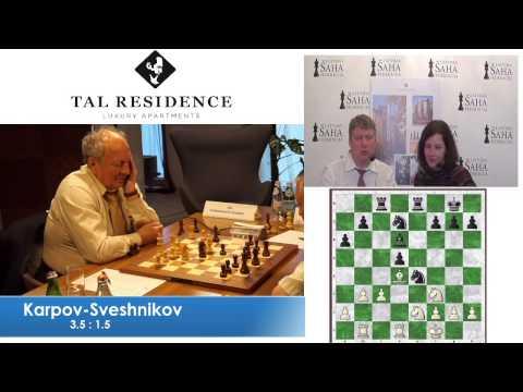 E.Sveshnikov vs A.Karpov - Game 6