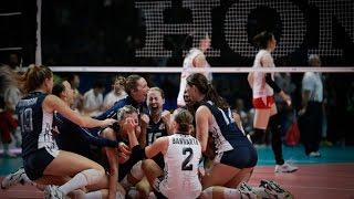 USA x China: FIVB Womens World championship Italy 2014 Final 4 point to point
