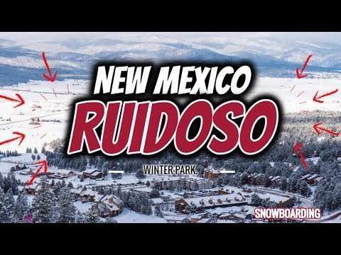 How long does the snow last in ruidoso new mexico