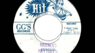 THE MAYTONES - Madness + version (1975 GG