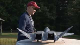 RC YF-23 Black Widow II twin 70mm EDF Jet