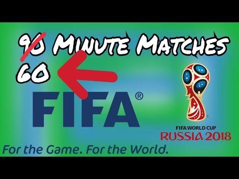 60 MINUTE FOOTBALL MATCH (IFAB PROPOSALS)