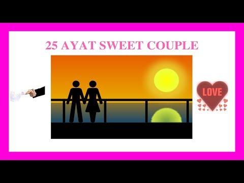 25 AYAT SWEET COUPLE TERHEBAT DI TAHUN 2018