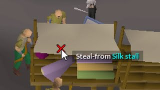 Stealing silk for 30 minutes - Deadman money making guide