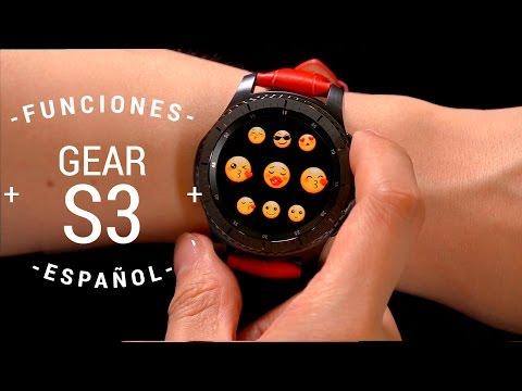 Samsung Gear S3 - Características