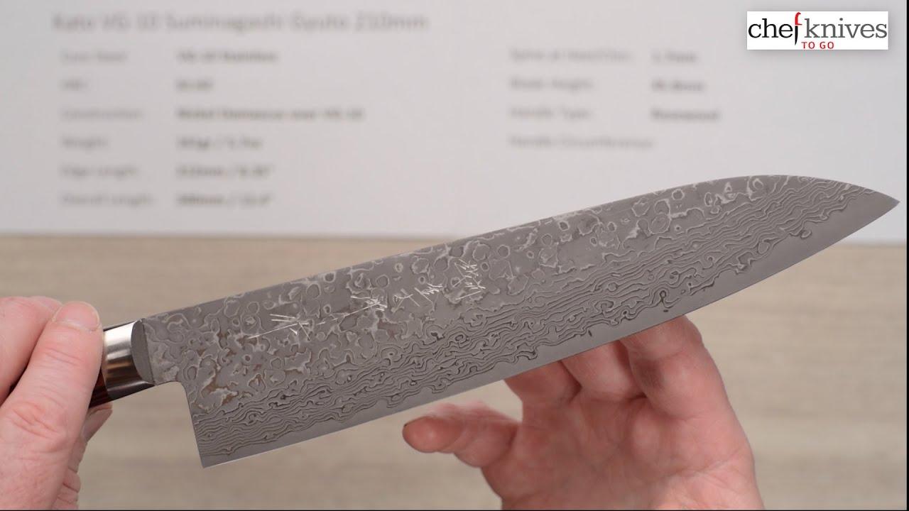 kato vg 10 suminagashi gyuto 210mm