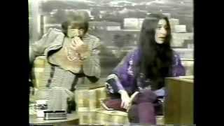 Sonny & Cher Interview at The Tonight Show in 1975 - Rare