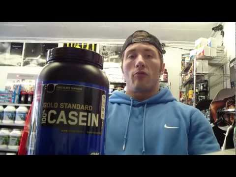 Optimum Nutrition 100% Gold Standard Casein Protein - Product Review - Bodybuilding4you.co.uk