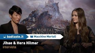 EXCL - Macchine Mortali: Hera Hilmar e Jihae ci parlano del film!