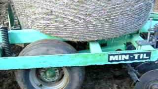 chisel plowing with case ih mx 135 deutz chisel plow and round bale ballast