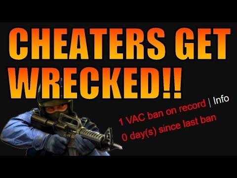 CSGO - Salty Cheaters Cry About Their VAC BANS!! - YouTube