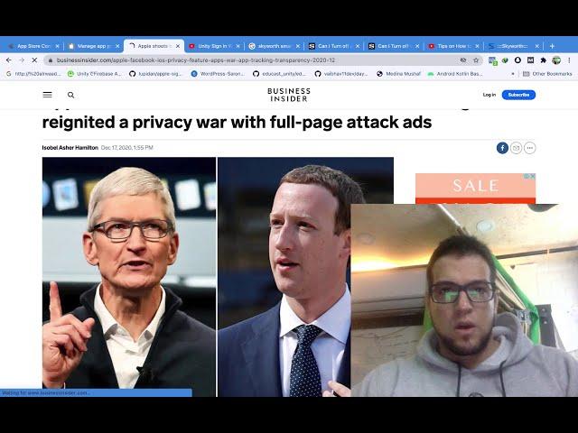 Apple App Privacy الحرب بين ابل وفيس بوك والحل المطلوب