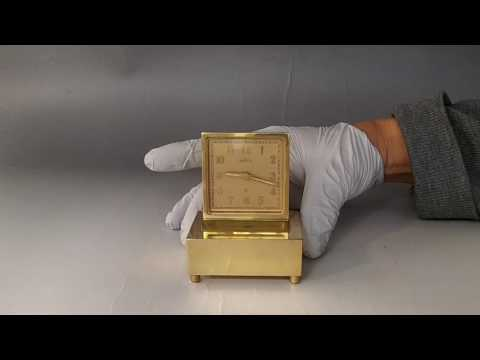 Antique Swiss Musical Alarm Clock