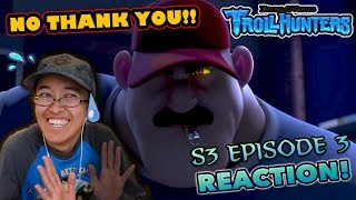 THERE'S SOMETHING IN THE (COFFEE) WATER! | Trollhunters S3 Episode 3 REACTION! (TIMER)