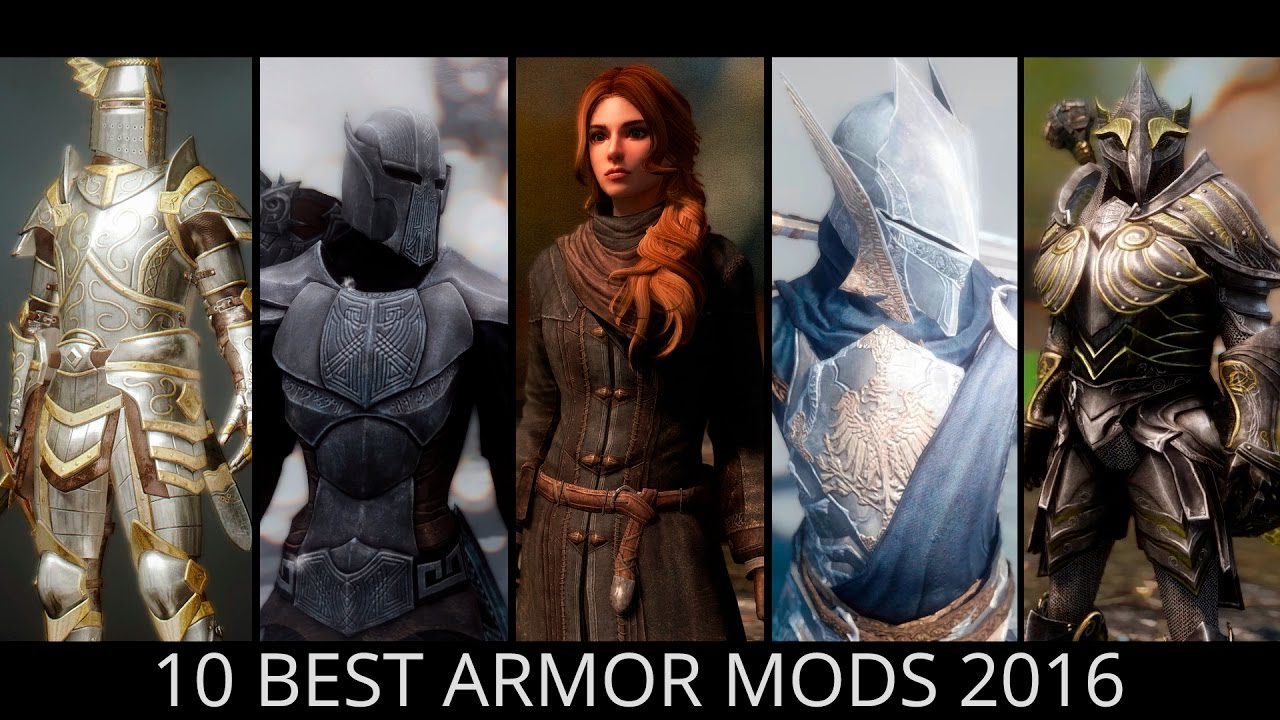 Skyrim - Top 10 Best Armor Mods 2016