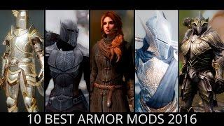 Skyrim - Top 10 Best Armor Mods 2016