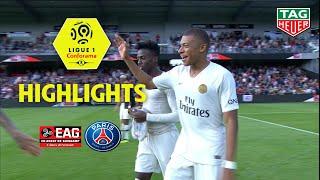 EA Guingamp - Paris Saint-Germain ( 1-3 ) - Highlights - (EAG - PARIS) / 2018-19
