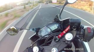 YAMAHA YZF R25 vs HONDA CBR 250R TURKEY KASTAMONU 020 AZERBAIJANI Biker