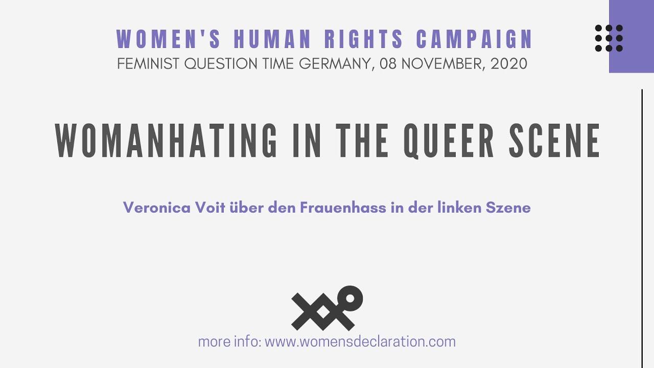 Download Veronica Voit über den Frauenhass in der linken Szene (w/ English Subtitles)