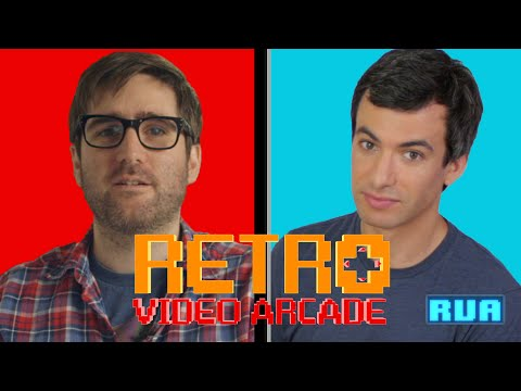 NATHAN FIELDER STOPS BY DAVID DINEEN-PORTER'S RETRO VIDEO ARCADE: HOT SISTER