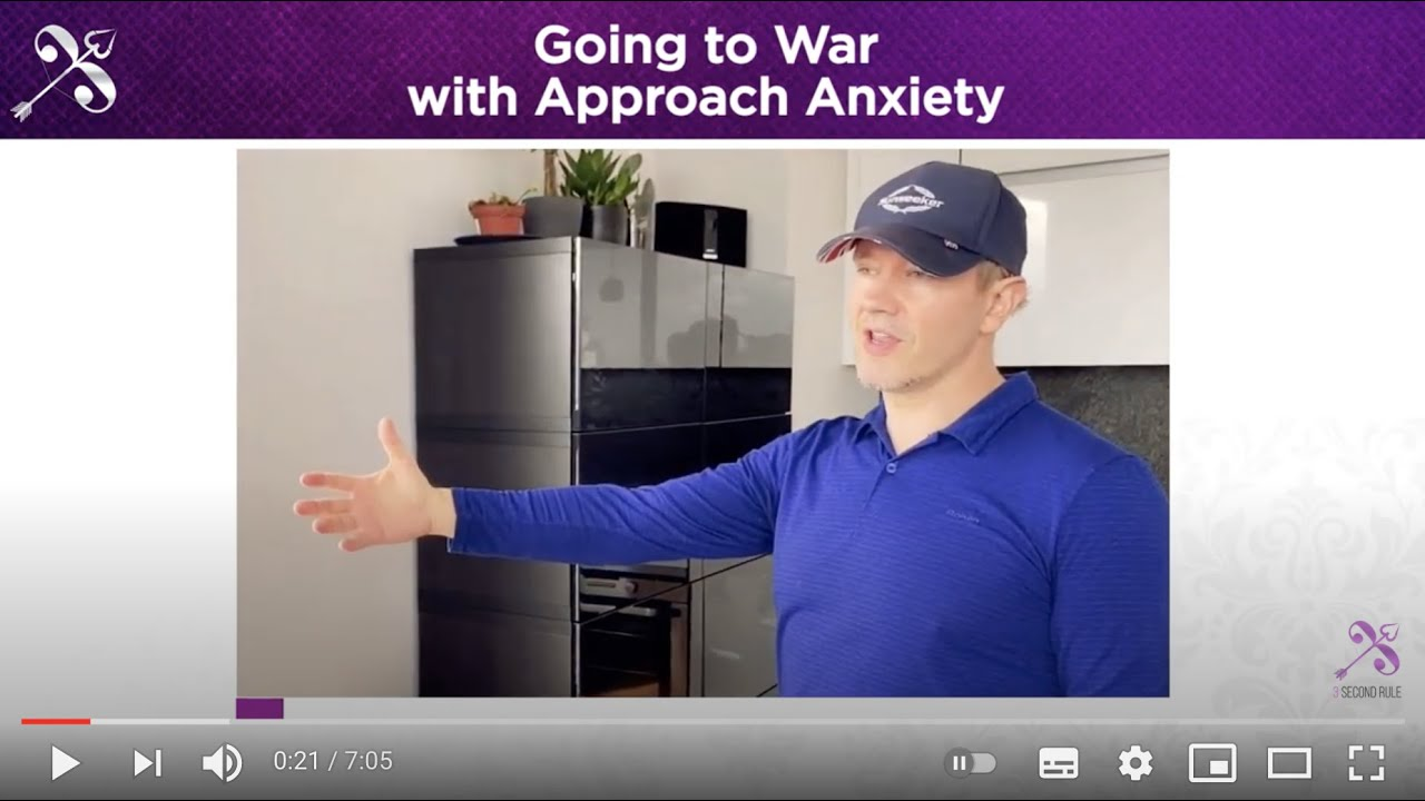 Going to War with 'Approach Anxiety'