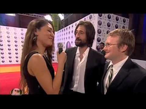 Adrien Brody with Neerma