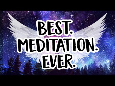 New Moon Meditation with Angels  ✨💜🙏🏻😇