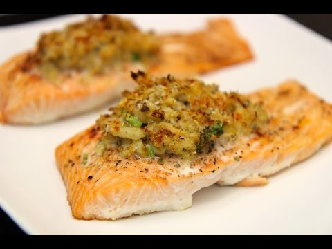 Crab Stuffed Salmon - Cooked By Julie Episode 325