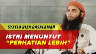 Berdosakah Saya Menuntut Perhatian Lebih Saat Suami Bekerja - Ustadz Syafiq Riza Basalamah
