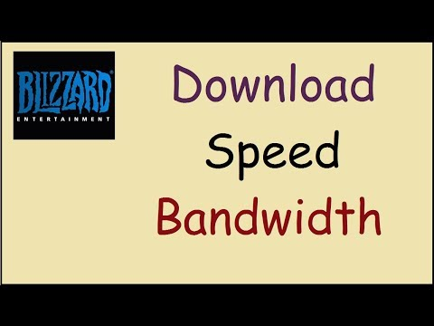 How to limit Battle.net download speed