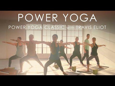 "60min. Power Yoga ""Classic"" with Travis Eliot"