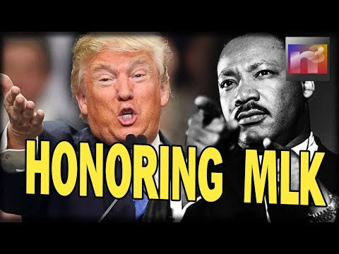 Trump Honors MLK, SECONDS later all HELL Breaks Loose as Leftists Become UNGLUED