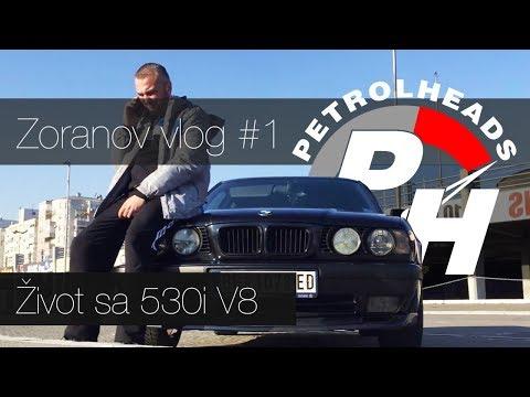 Prve reakcije na E34 V8 / First reaction on e34 v8 / Zokijev Vlog #1