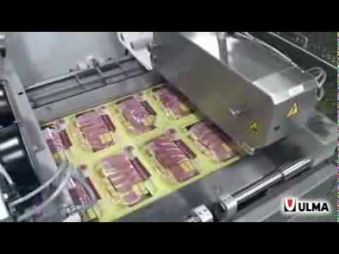 Bacon Skin Packaging In Thermoforming In Rigid Film Youtube