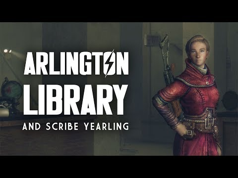 Scribe Yearling, the Arlington Library, & Nearby Points of Interest - Fallout 3 Lore