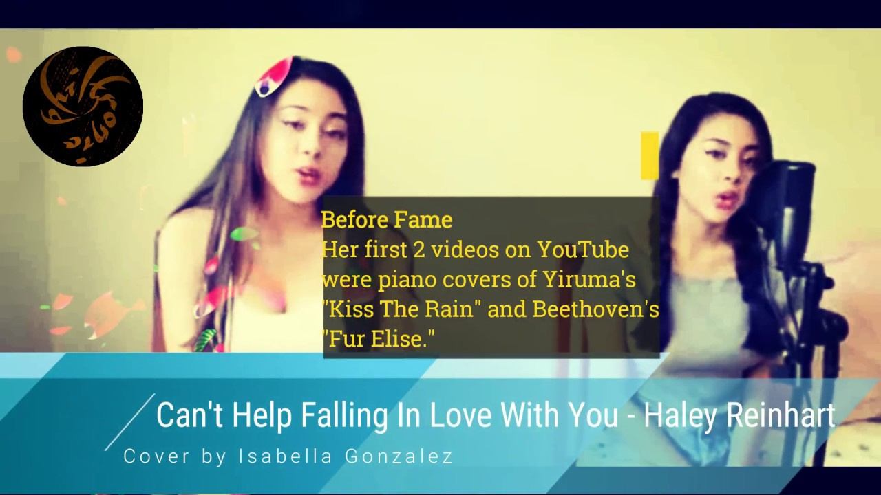 Can 39 T Help Falling In Love Cover By Isabella Gonzalez