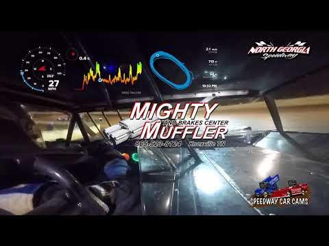 #56H Jordon Horton - Speedometer - Crate - 11-11-17 North Georgia Speedway - In Car Camera