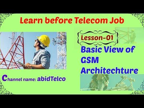 GSM Architecture Basics (Lesson 01)_(Bangla)