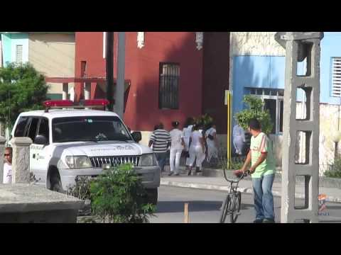 Activistas de unpacu y damas de blanco en guantanamo reclaman a la policia
