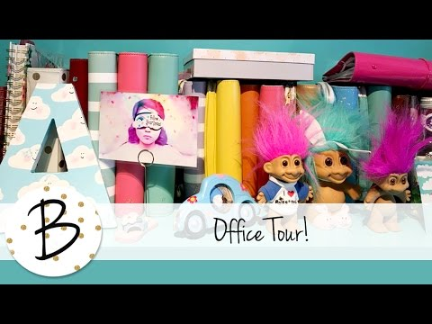 My office / Art / craft room tour