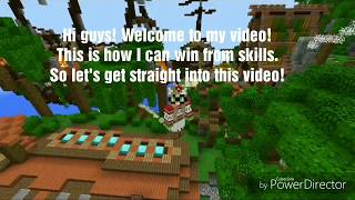 How can I Win Alot In Minecraft PE Brokenlens The Best Builder?