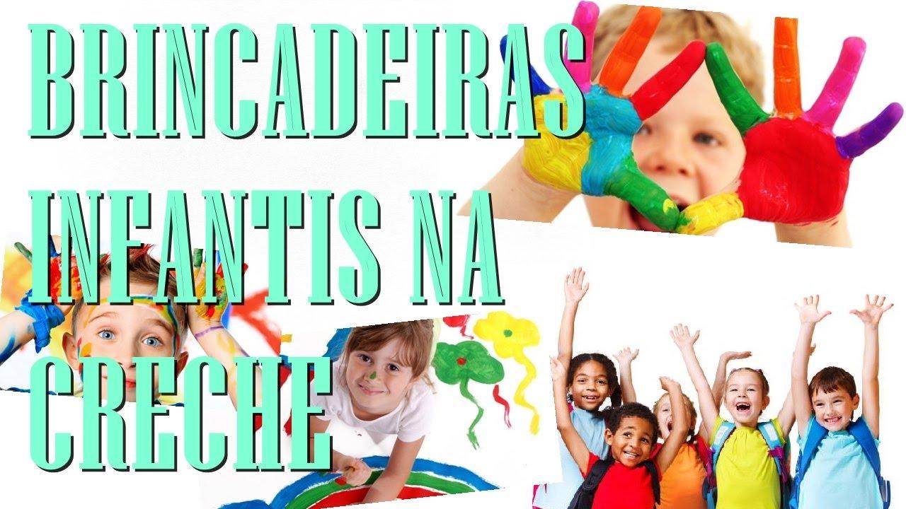 Suficiente BRINCADEIRAS INFANTIS NA CRECHE E PRÉ-ESCOLA MUNDO FELIZ #007  AG86