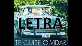 Juan Gabriel - Te Quise Olvidar ft. Alejandro Fernández LETRA