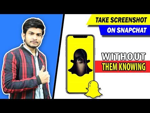 Take Screenshot On Snapchat Without Notification - Snapchat Ka Screenshot Lain Without Them Knowing