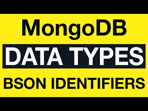MongoDB BSON Type Identifiers - YouTube